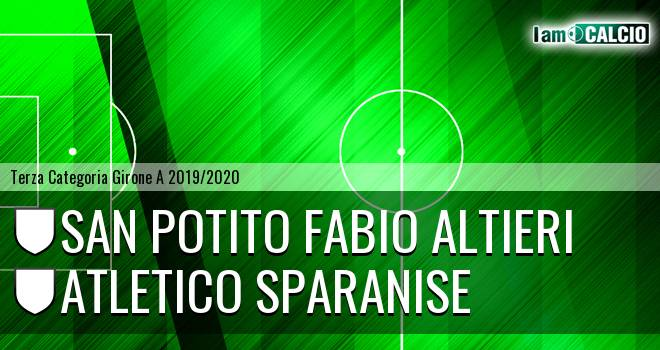 San Potito Fabio Altieri - Atletico Sparanise