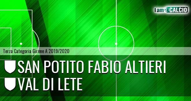 San Potito Fabio Altieri - Val di Lete