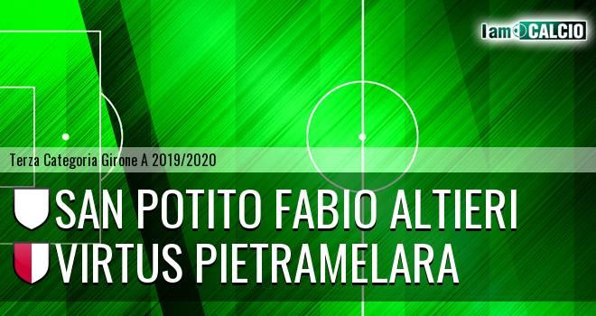 San Potito Fabio Altieri - Virtus Pietramelara