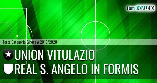 Union Vitulazio - Real S. Angelo in Formis
