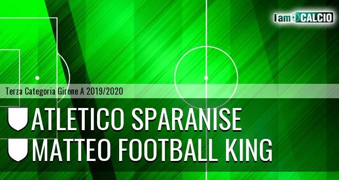 Atletico Sparanise - Matteo Football King