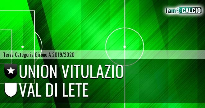 Union Vitulazio - Val di Lete