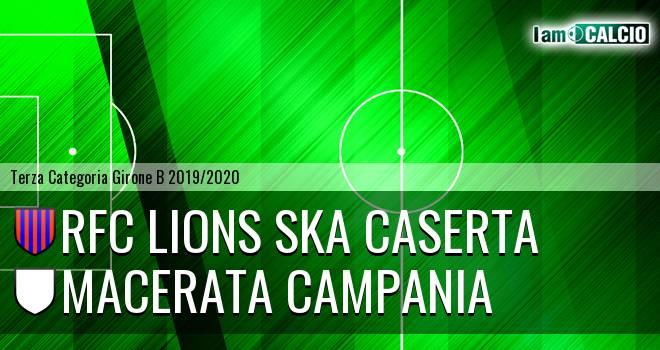 RFC Lions Ska Caserta - Macerata Campania