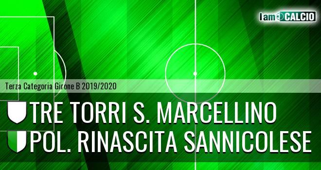 Tre Torri S. Marcellino - Pol. Rinascita Sannicolese