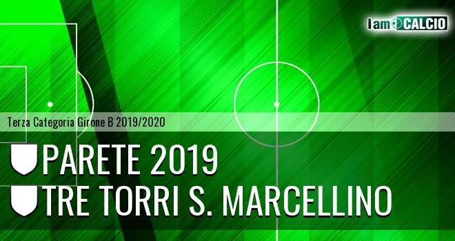 Parete 2019 - Tre Torri S. Marcellino