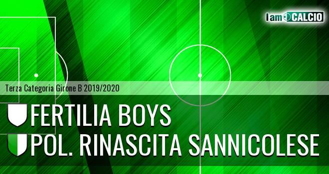 Fertilia Boys - Pol. Rinascita Sannicolese