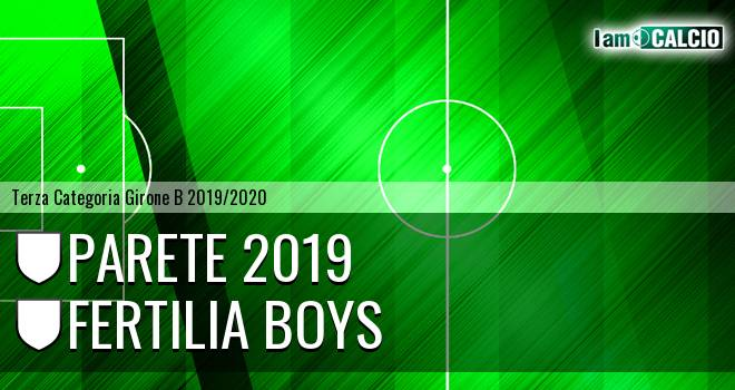 Parete 2019 - Fertilia Boys
