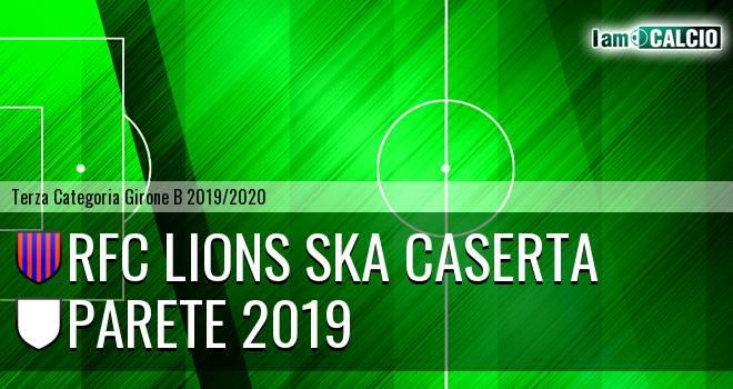 RFC Lions Ska Caserta - Parete 2019