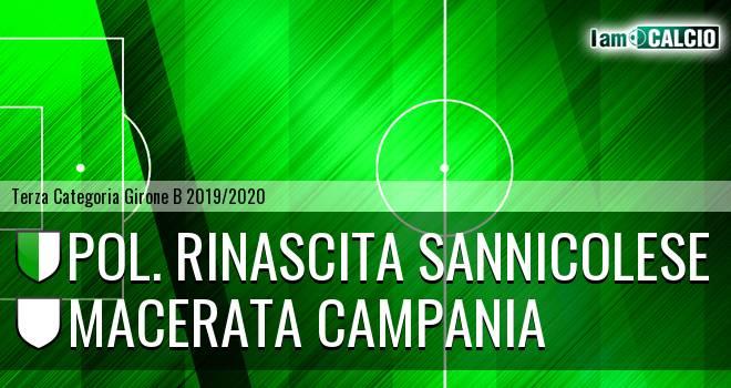 Pol. Rinascita Sannicolese - Macerata Campania