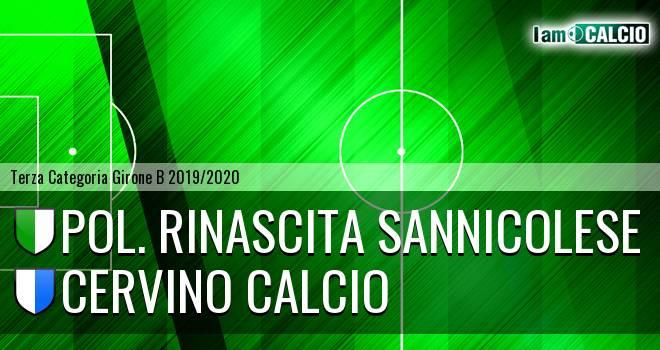 Pol. Rinascita Sannicolese - Cervino Calcio