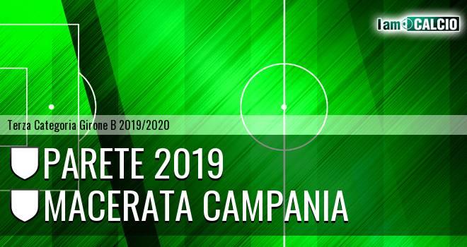 Parete 2019 - Macerata Campania
