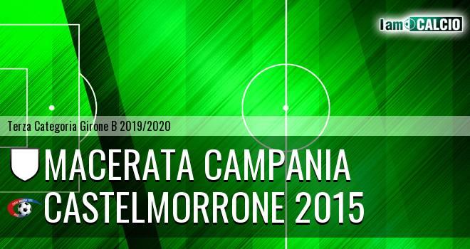 Macerata Campania - Castelmorrone 2015