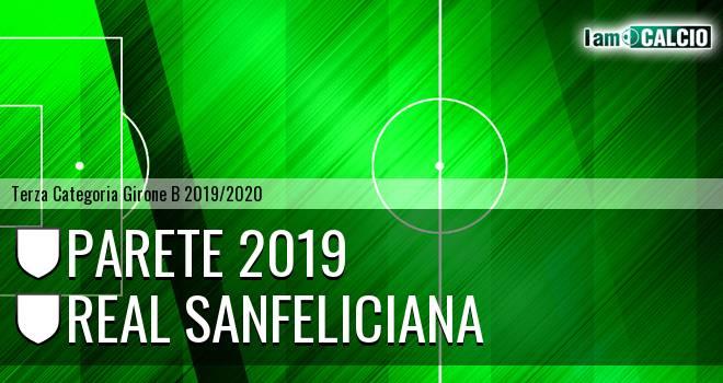 Parete 2019 - Nuova Sanfeliciana