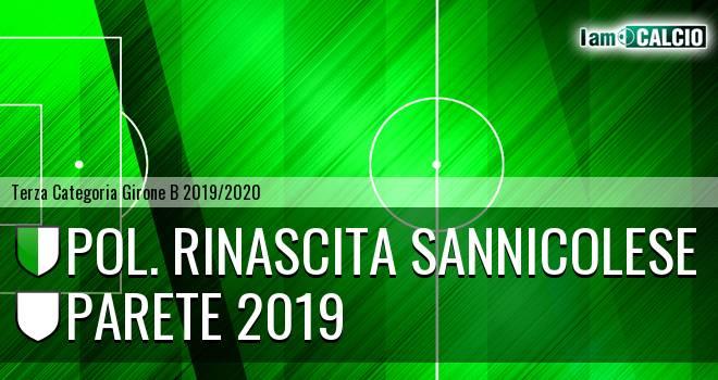 Pol. Rinascita Sannicolese - Parete 2019