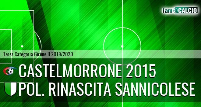 Castelmorrone 2015 - Pol. Rinascita Sannicolese