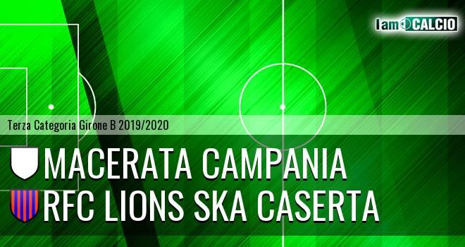 Macerata Campania - RFC Lions Ska Caserta