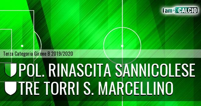 Pol. Rinascita Sannicolese - Tre Torri S. Marcellino
