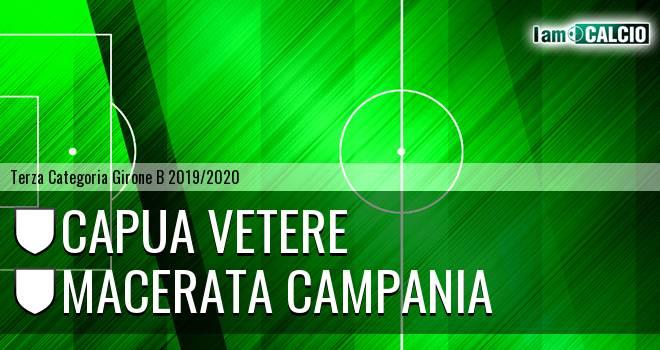 Capua Vetere - Macerata Campania