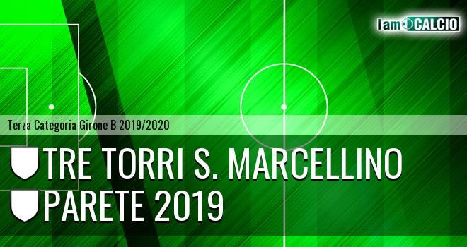 Tre Torri S. Marcellino - Parete 2019