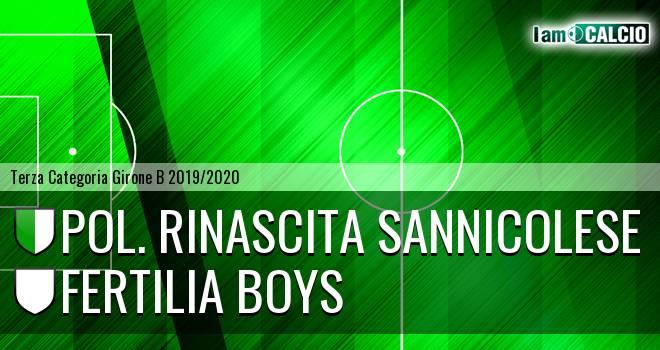 Pol. Rinascita Sannicolese - Fertilia Boys