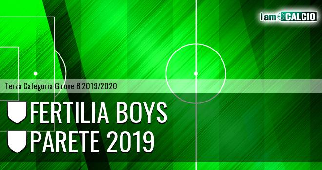 Fertilia Boys - Parete 2019