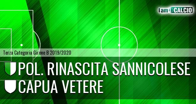 Pol. Rinascita Sannicolese - Capua Vetere