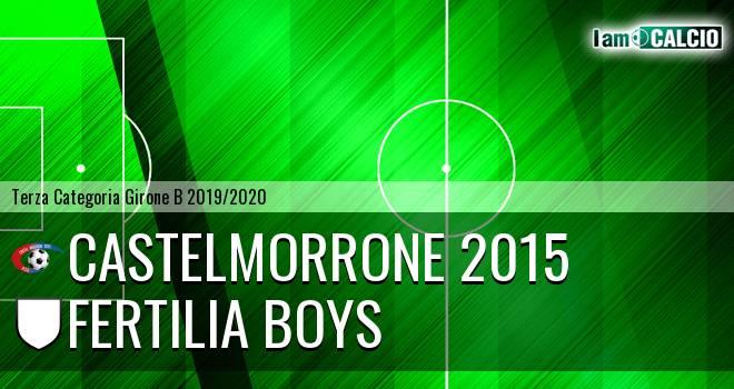 Castelmorrone 2015 - Fertilia Boys