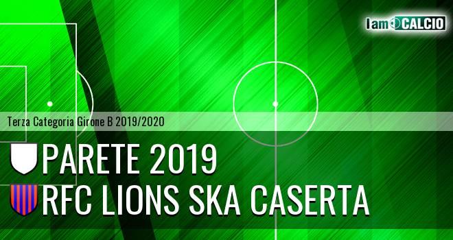 Parete 2019 - RFC Lions Ska Caserta