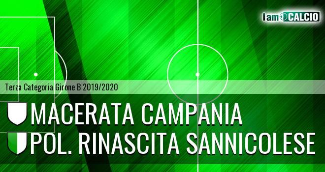 Macerata Campania - Pol. Rinascita Sannicolese