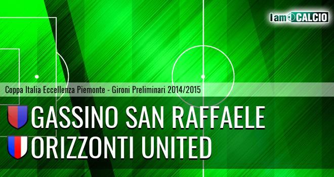 Gassino San Raffaele - Orizzonti United