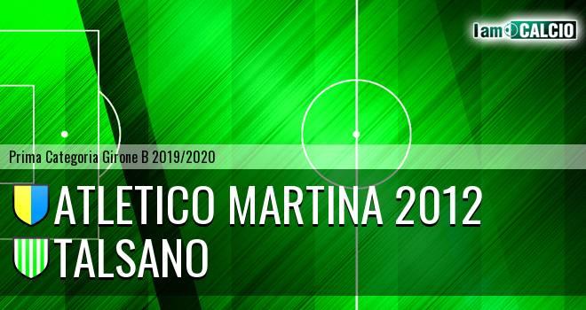 Atletico Martina 2012 - Talsano
