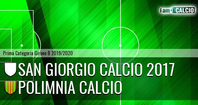San Giorgio Calcio 2017 - Polimnia Calcio