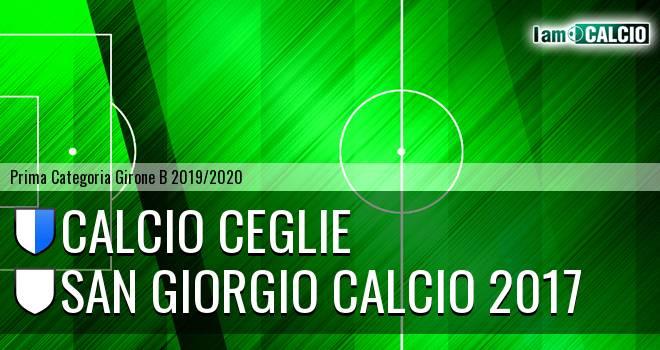 Calcio Ceglie - San Giorgio Calcio 2017