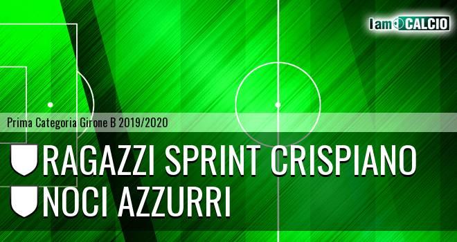 Ragazzi Sprint Crispiano - Noci Azzurri