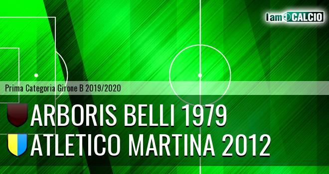 Arboris Belli 1979 - Atletico Martina 2012