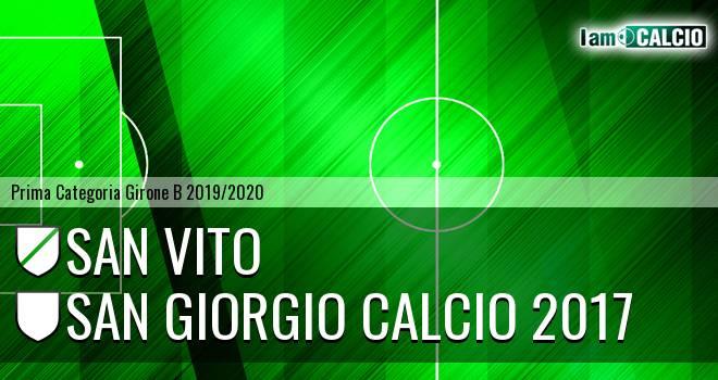 San Vito - San Giorgio Calcio 2017
