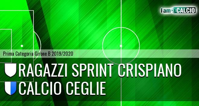 Ragazzi Sprint Crispiano - Calcio Ceglie