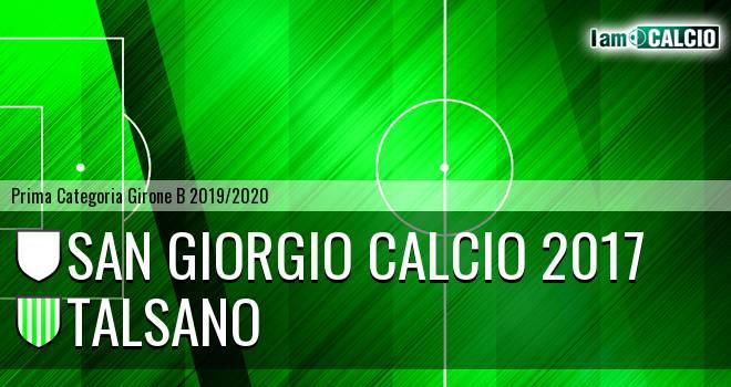 San Giorgio Calcio 2017 - Talsano