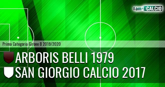 Arboris Belli 1979 - San Giorgio Calcio 2017
