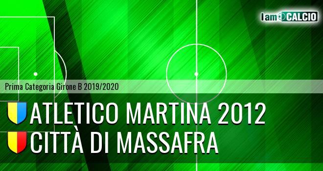 Atletico Martina 2012 - Città di Massafra