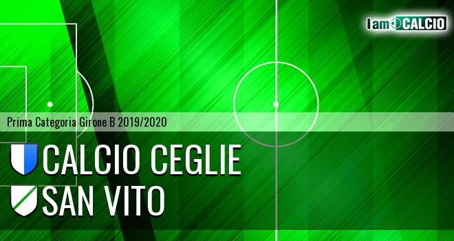 Calcio Ceglie - San Vito