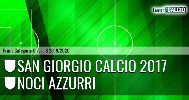 San Giorgio Calcio 2017 - Noci Azzurri