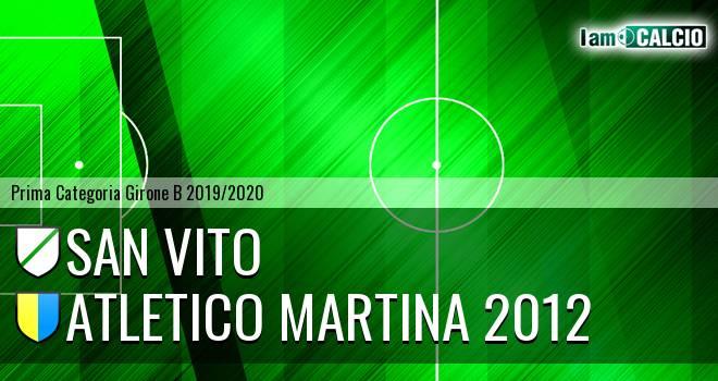 San Vito - Atletico Martina 2012