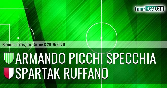Armando Picchi Specchia - Spartak Ruffano