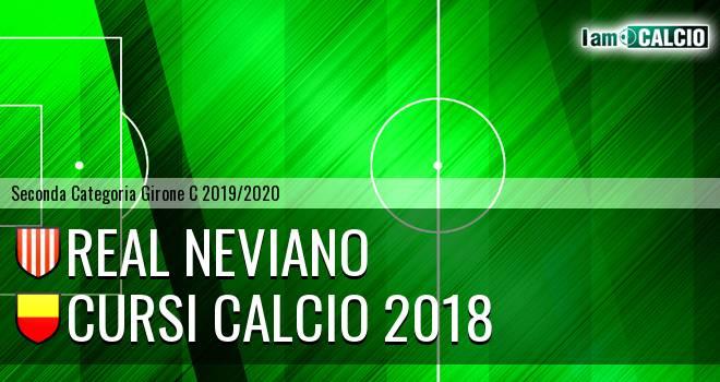 Real Neviano - Cursi Calcio 2018