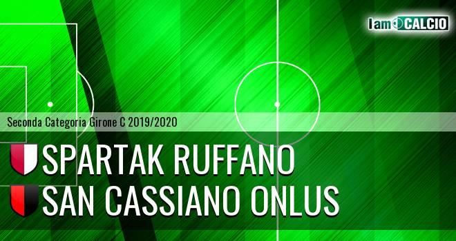 Spartak Ruffano - San Cassiano Onlus