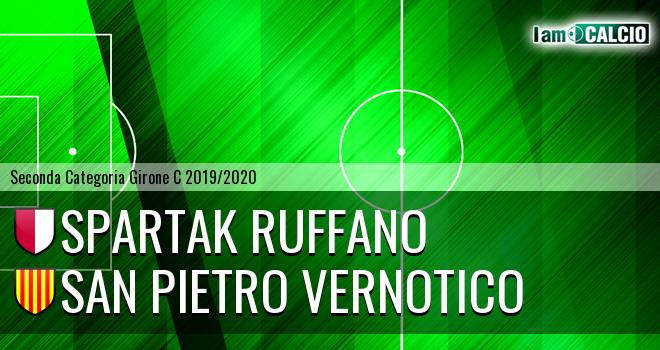Spartak Ruffano - San Pietro Vernotico