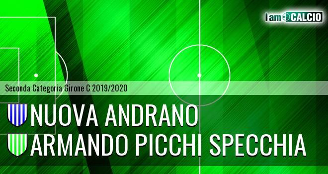 Nuova Andrano - Armando Picchi Specchia