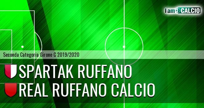 Spartak Ruffano - Real Ruffano Calcio