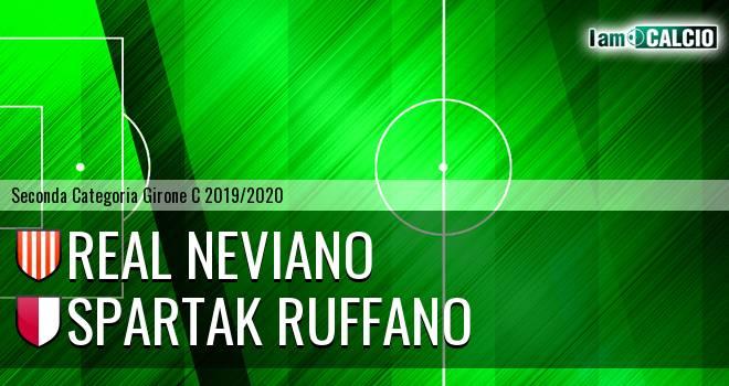 Real Neviano - Spartak Ruffano
